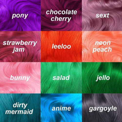 Unicorn Hair Color Ideas